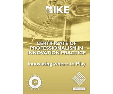COURSE: Certificate of Professionalism in innovation Practice brochure cover
